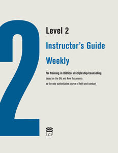 Level 2 Instructor's Guide: Weekly