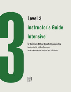 Level 3 Instructor's Guide: Intensive