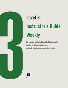 Level 3 Instructor's Guide: Weekly