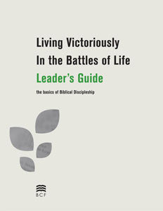 Living Victoriously Leader's Guide (Print Version) (SPECIAL PRICING*)