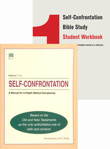 Self-Confrontation Manual/Student Workbook Bundle (English Clean, non-Blemished) (SPECIAL PRICING*)
