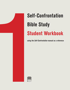 Self-Confrontation Student Workbook (English Clean non-blemished) (SPECIAL PRICING*)