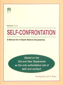 Self-Confrontation Manual (English blemished)(SPECIAL PRICING*)