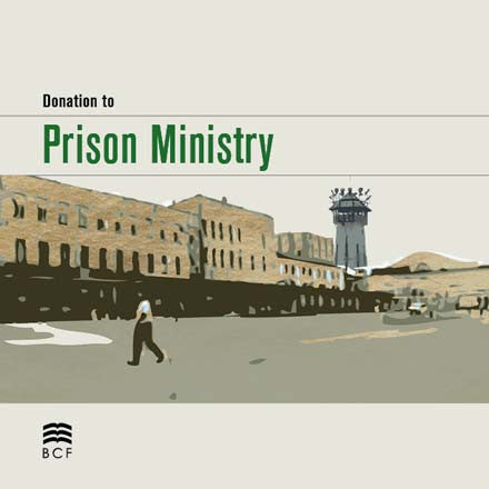 Donation to Prison Ministry