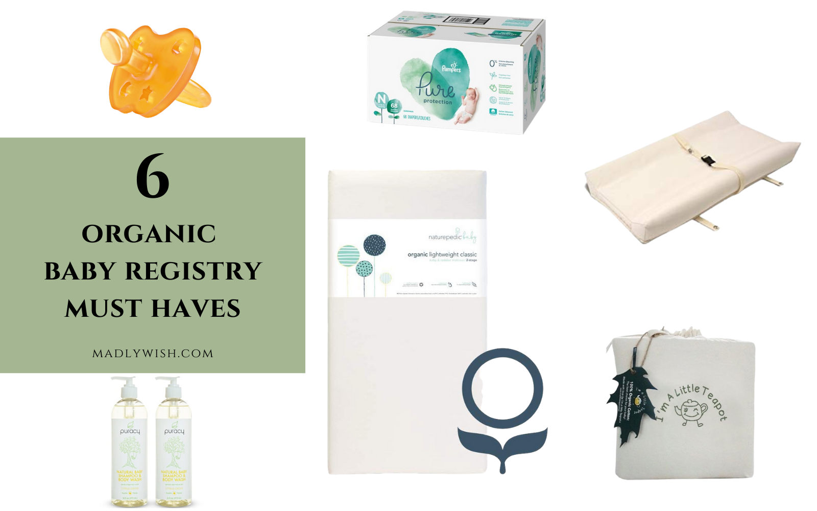 Organic Baby Registry Must Haves
