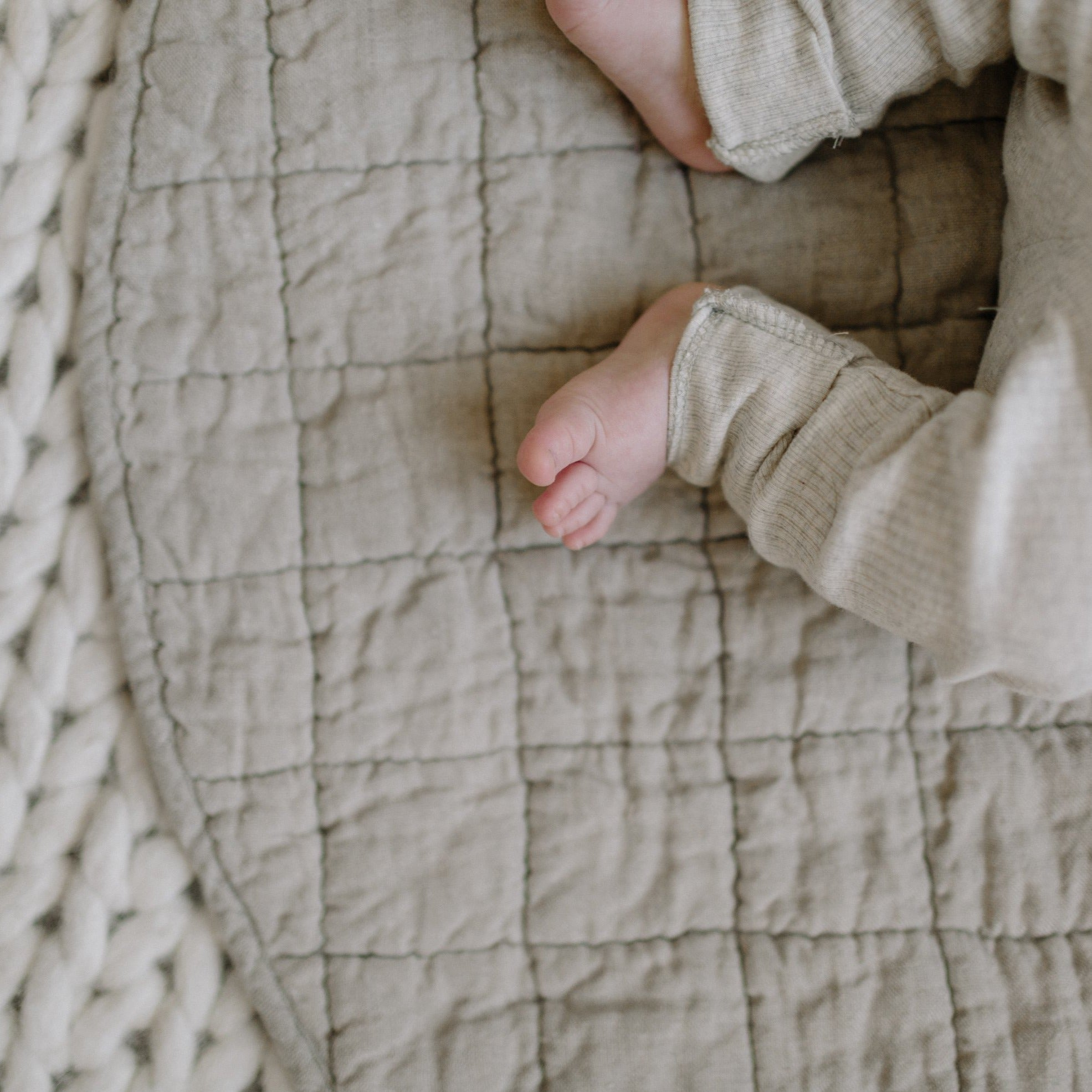 Quilted Linen Playmat
