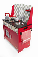 Tidlo Red Play Kitchen Station