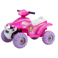Pink Racing 6v Electric Quad Bike Ride On