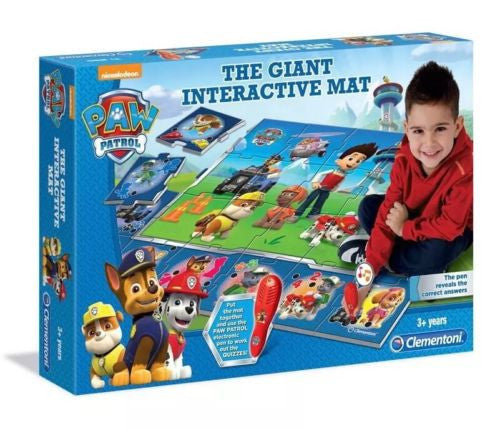 Paw Patrol Giant Interactive Play Mat