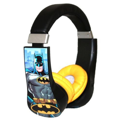 Batman Kids Safe Children's Headphones