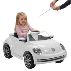 VW Beetle Electric Ride On Car with Parent Remote Control