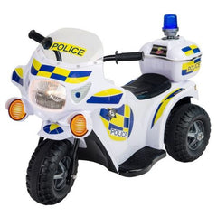 Racing Police 6v Electric Ride On Motorbike