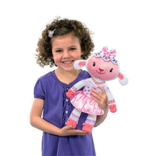 Disney Doc McStuffins Colour Me Lambie