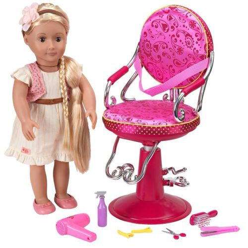 Our Generation Doll's Salon Chair
