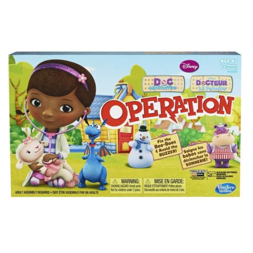 Disney Doc McStuffins Operation Board Game