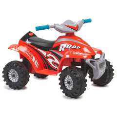Red Racing Quad Bike 6v Electric Ride On
