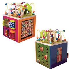 B. Zany Zoo Wooden Activity Cube