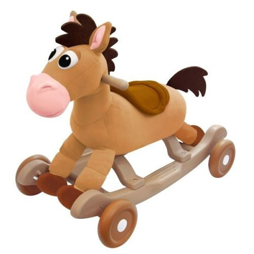 Toy Story Bullseye The Horse Rock 'n Roll Rocking Horse