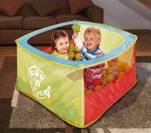 Worlds Apart Square Ball Pit