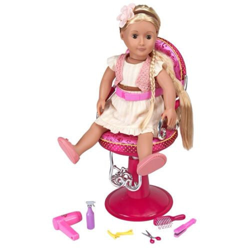 Our Generation Doll S Salon Chair Browns Toy Emporium