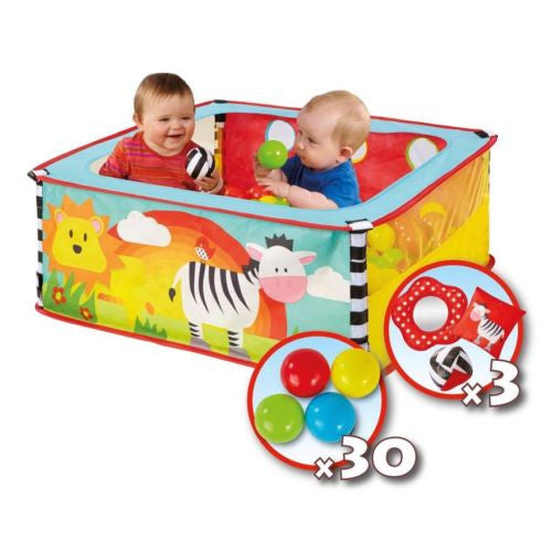 Worlds Apart Get Go A-Zebra Pop Up Ball Pit