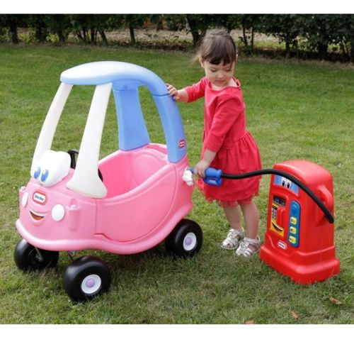 Little Tikes Pink Princess Cozy Coupe Ride on Car Bike & Petrol Cozy Pumper