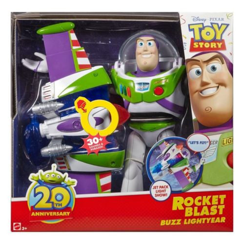 Disney Toy Story Rocket Blast Buzz Lightyear 20th Anniversary Collection Edition