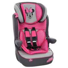 Imax Deluxe SP Minnie Mouse Group 1-2-3 Car Seat