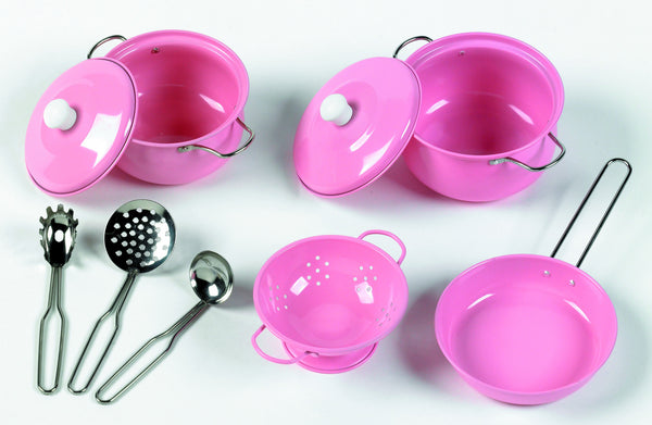 Tidlo Pink Cookware Play Set