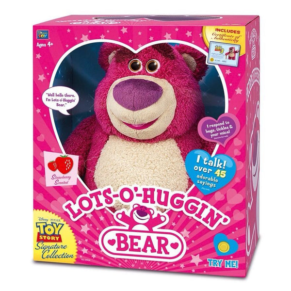 Toy Story 3 Strawberry Talking Lots-O Huggin Bear Signature Collection