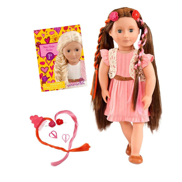 Our Generation Hair Play Parker Doll