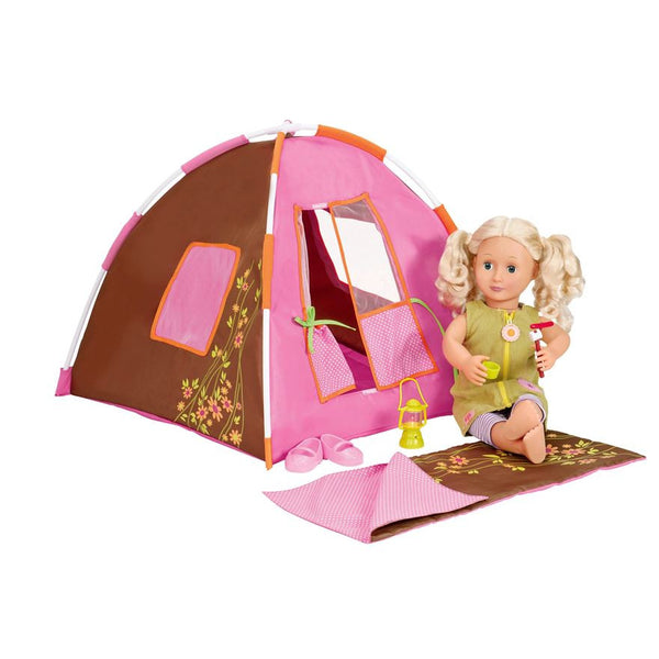 Our Generation Polka Dot Camping Set Browns Toy Emporium