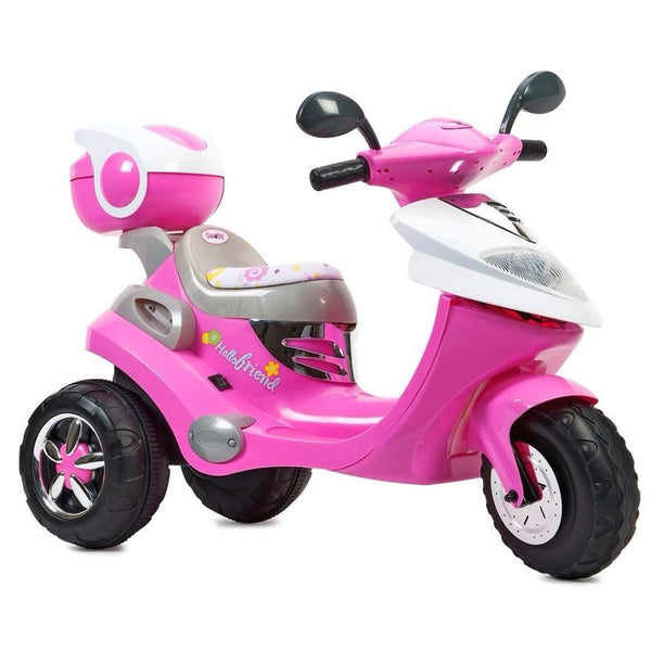 Hello Friend Pink Electric Scooter
