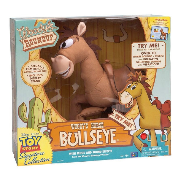 Toy Story Andy's Toy Chest Bullseye the Horse Signature Collection