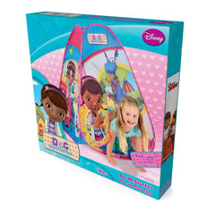 Disney Doc McStuffins 4 Panel Pop Up Play Tent