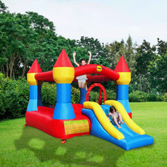 King of The Castle Bouncy Castle with Slide