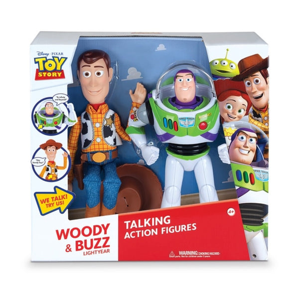 Toy Story Woody & Buzz Lightyear Talking Action Figures