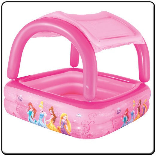 Disney Princess Pool With Sun Shade