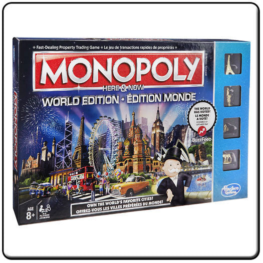 Monopoly Here and Now World Edition