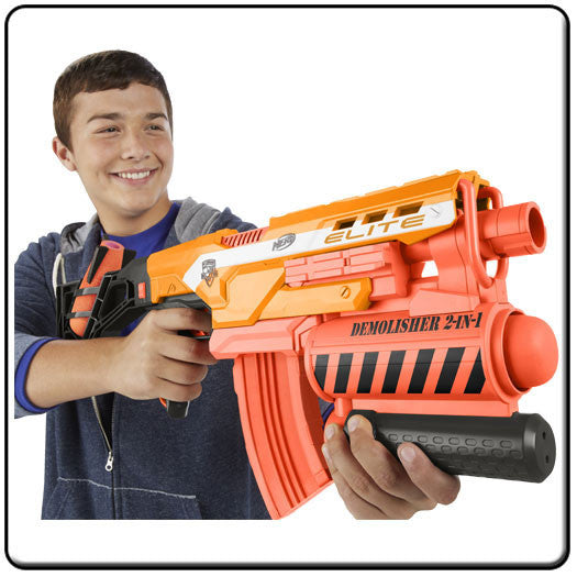 NERF Demolisher 2 in 1