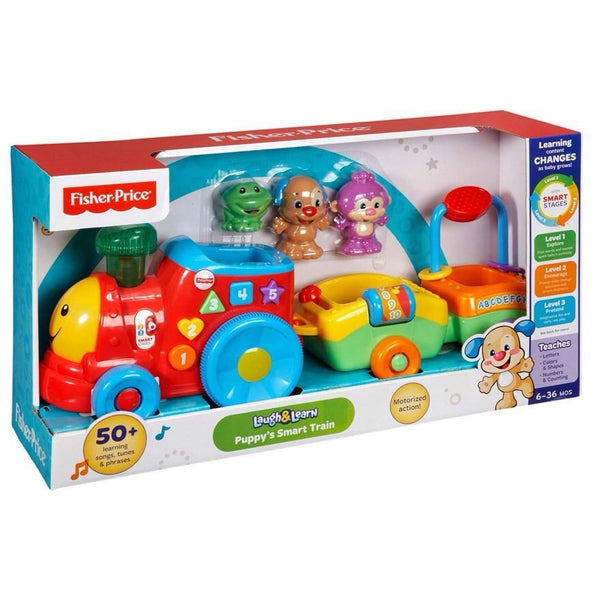 Fisher-Price Laugh & Learn Puppys Smart Stages Train