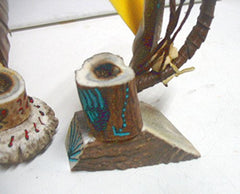 Native American Navajo Made Tobacco Peace Pipe by Shirlety Gibson