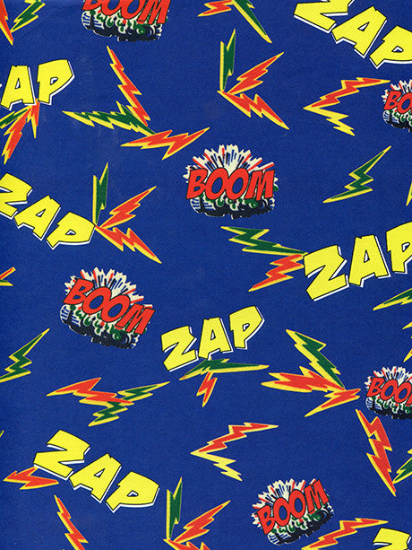 Boom Zap Printed Photo Backdrop / 208 - DropPlace