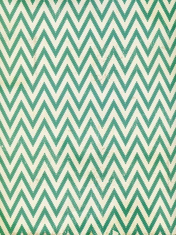 Green Zig Zag Photo Backdrop / 2598 - DropPlace