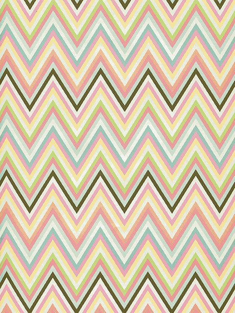 Pastel Zig Zag Printed Photo Backdrop / 2599