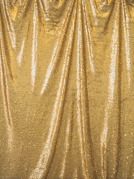 Soft Gold Sequin Printed Photography Background / 4604 - DropPlace