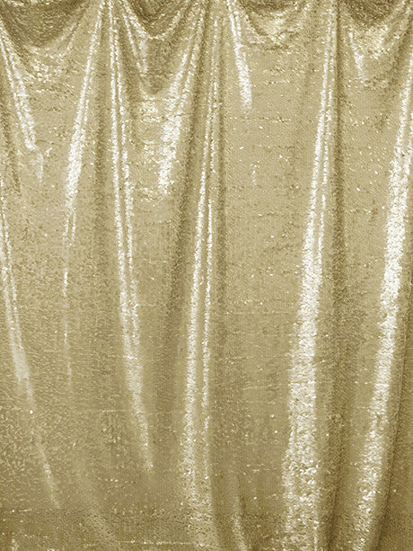 Soft Gold Sequin Printed Photo Background / 4609 - DropPlace