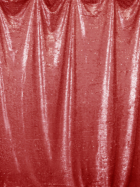 Red Sequin Printed Photography Backdrop / 4611 - DropPlace