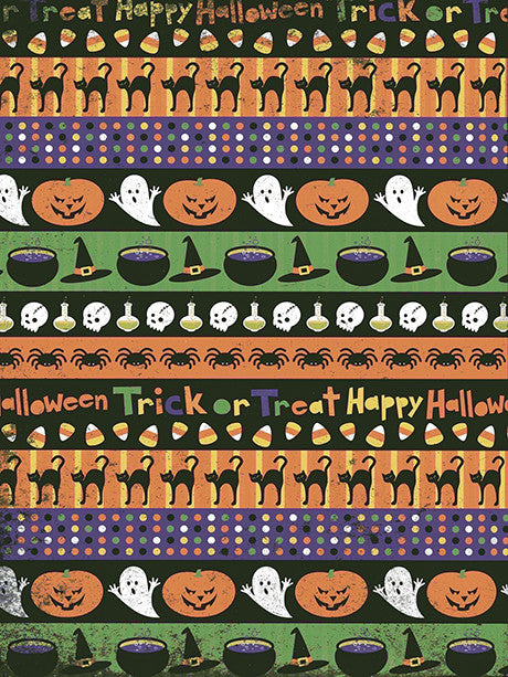 Happy Halloween Printed Photography Background / 5011
