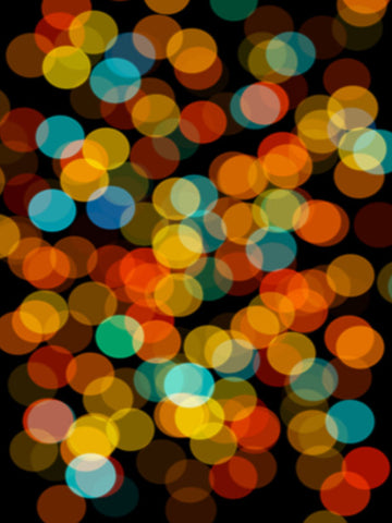 Bokeh City Photography Backdrop / 536 - DropPlace